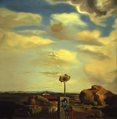 Загадка осени - Сальвадор Дали (1935)