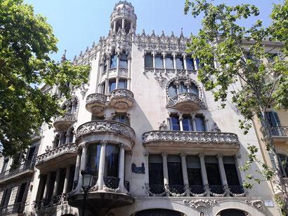 Квартал Раздора в Барселоне - дом Лео Морера