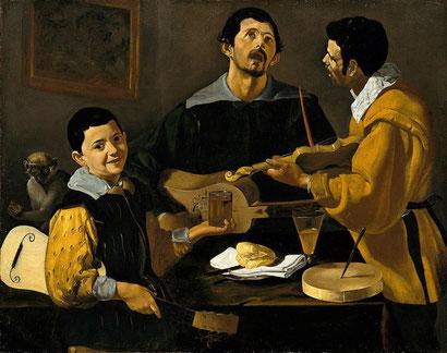 Три музыканта - Диего Веласкес