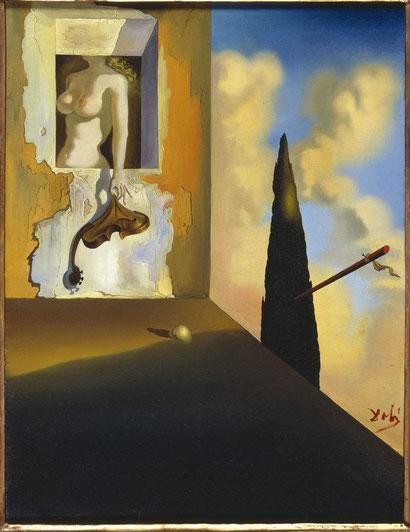 Мазохистский инструмент - Сальвадор Дали (1934)