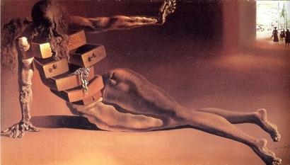 Антропоморфный шкафчик - Сальвадор Дали (1936)
