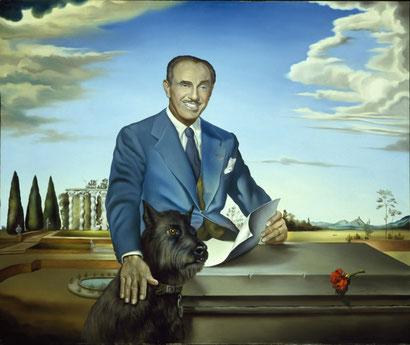 Портрет полковника Джека Уорнера - Сальвадор Дали