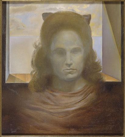 Гала против света (Портрет Галы) - 1975-79