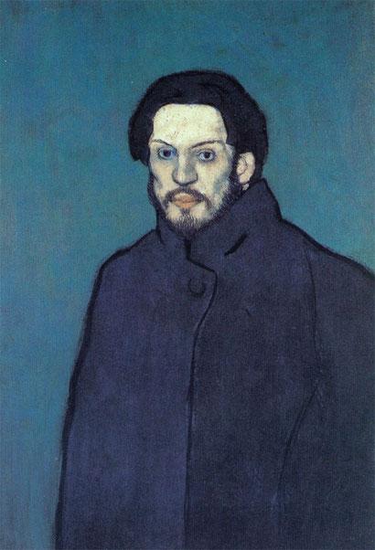Автопортрет - Пабло Пикассо (1901)