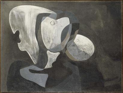 Две фигуры - Сальвадор Дали (1926).
