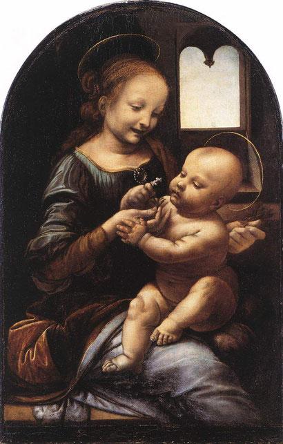 Мадонна Бенуа - Леонардо да Винчи
