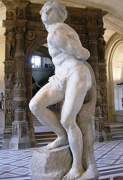Восставший раб - известные работы Микеланджело