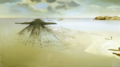 Геологическая справедливость - картина Сальвадора Дали