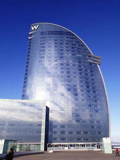"""Отель """"парус"""" в Барселоне - самый необычный карантин в Барселоне"""