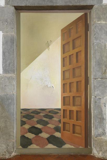 Без названия. Дверь - картина Сальвадора Дали