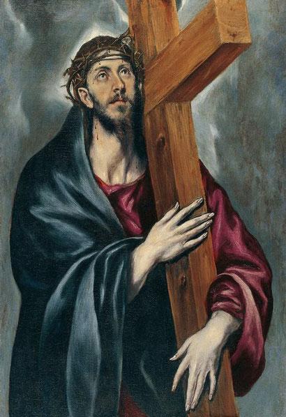 Христос, несущий крест - Эль Греко
