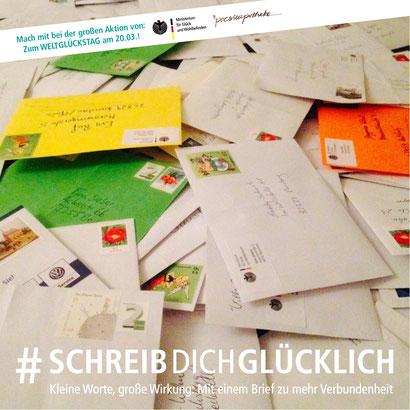 Foto: Gina Schöler, Aktion #schreibdichglücklich