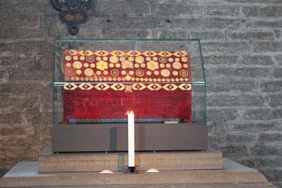 Auch ein Besuch am Schrein der Heiligen Birgitta muss sein