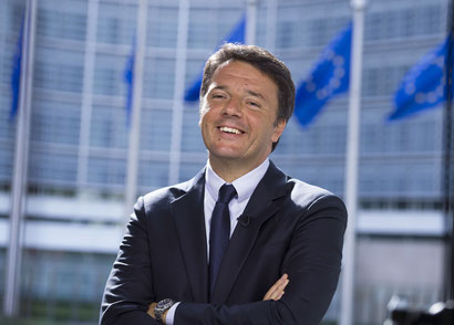 Matteo renzi contact booking speech conference
