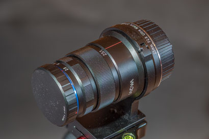 Laowa 25mm f2.8 2.5-5X Ultra Macro lens