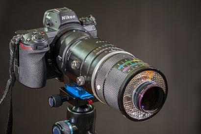 Z6 mit Nikon Medical-Nikkor 200mm f5.6 1:15 – 3:1 (uralt)