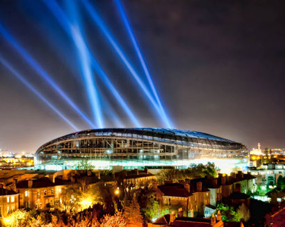Освещение крытых спортивных сооружений