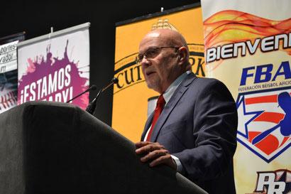 Dr. José Quiles, presidente de la Federación de Béisbol de Puerto Rico dio detalles del inicio de la Temporada 2019