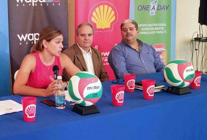 """""""Por compromisos de la selección, el torneo se detendrá en julio, aseguró la directora de la LVSM,Lcda. Leyre Santaella / Foto por FPV"""