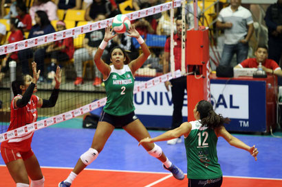 Kathia Sánchez #2 de las Indias de Mayagüez fu galardonada en la semana #10 como la JMV / foto por Heriberto Rosario Rosa