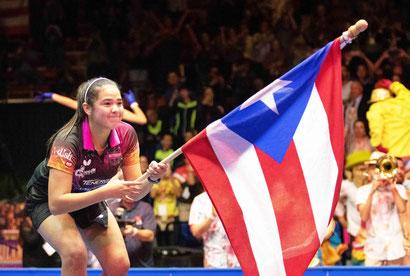 La olímpica Adriana Diaz estará activa nuevamente en la Copa Panamericana de Tens del 7 al 9 de febrero en Guaynabo. (J. Hudo)