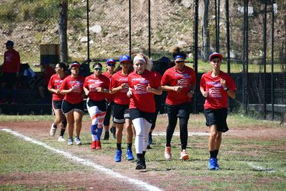 El equipo de Puerto Rico tuvo su primera práctica en México / Foto suministrada por FBAPR