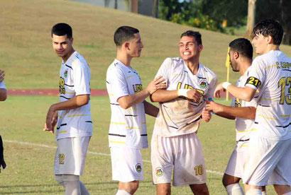 Los Lobos de la UPR de Arecibo pasa a semifinales del fútbol de la LAI. (Foto por UPR A)