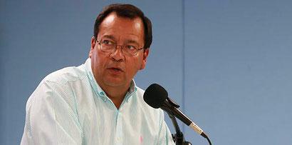 Ing. Jorge Davila, Co Apoderado de las Changas apeló la sanción al dirigente de su equipo por la FPV- foto  suministrada
