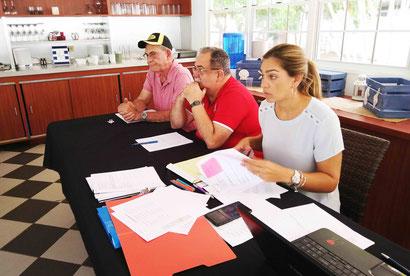 La directora de la Liga de Voleibol Superior Masculino, Lcda. Leyre Santaella Santé dio a conocer el cambio / Foto por FPV