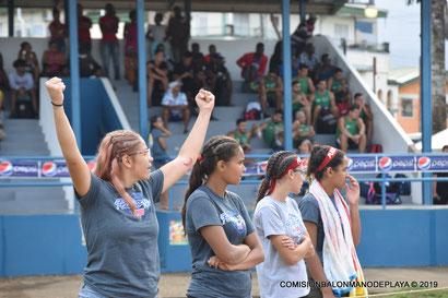 Las chicas lograron ser las cuatro mejores selecciones del torneo