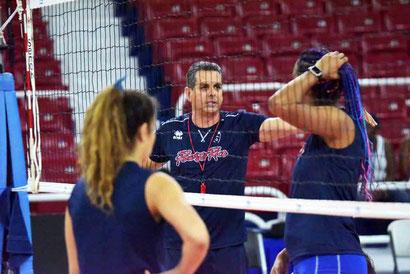 Puerto Rico bajo la dirección de José Mieles jugará contra Canadá el viernes en el primer partido del torneo / Foto por NORCECA