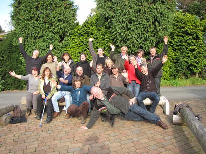 Frisch gebackene Waldpädagogen - Jahrgang 2010