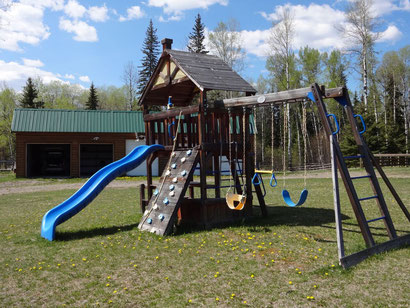 Picture of the plaground at Wettstone Guest Ranch