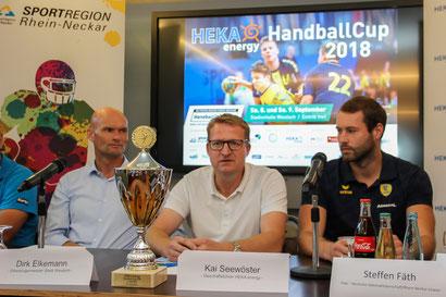 Kai Seewöster, Geschäftsführer vom Namensgeber HEKA energy, ist selbst begeisterter Handballer.