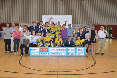 Die Junglöwen wurden ihrer Favoritenrolle im Finale gegen Friesenheim gerecht.