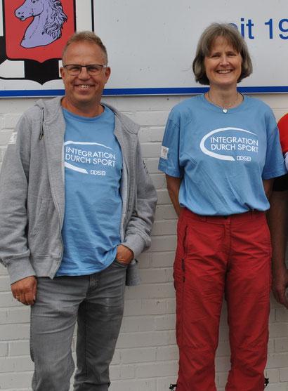 Holger Ziel und Andrea Wolansky