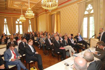 Die 36. EDR-Ratssitzung fand in der Evenburg in Leer statt.