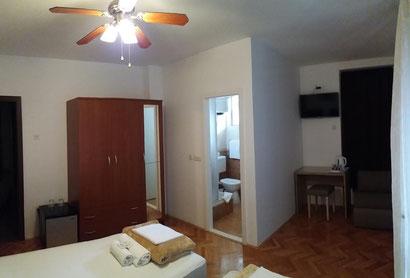 Dreibett Zimmer Makarska