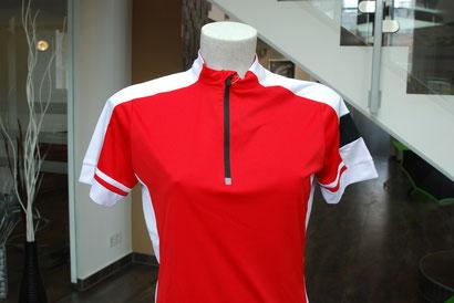 Sportshirt für Frauen in rot.