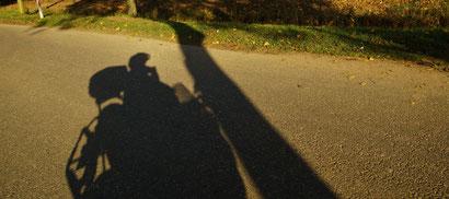 Die Straße, mein Moped und ich