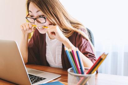 Beurteilung von Schülern, Laptop