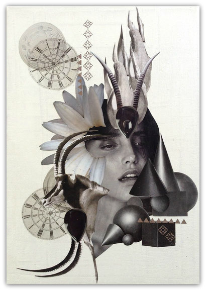 Collage by Marianne Burger - Dimension