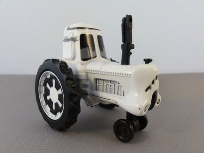 Tractor as Stormtrooper