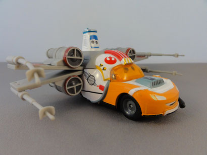Lightning McQueen as Batlle Luke Skywalker