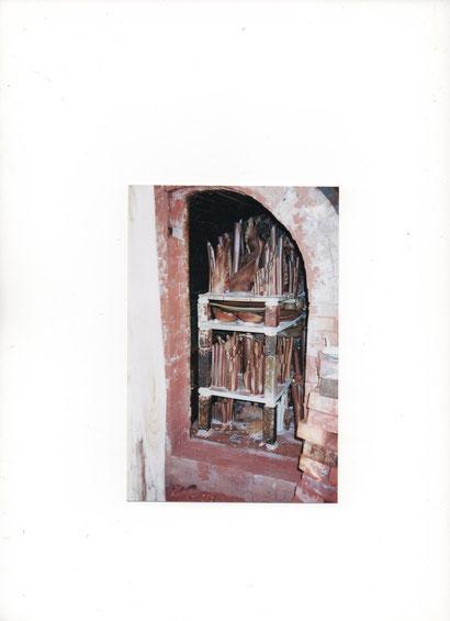 image montrant les Pièces cuites encore rangées à l'intérieur du Four après son ouverture .