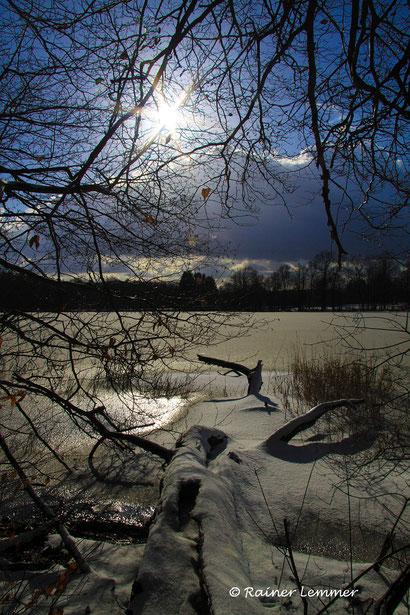 Winter Wanderung um den Postweiher