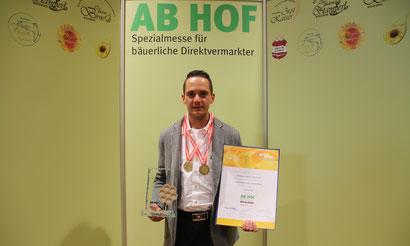 """Mit Mölltaler Honig in der Kategorie """"Cremehonig"""" zum Sieg"""