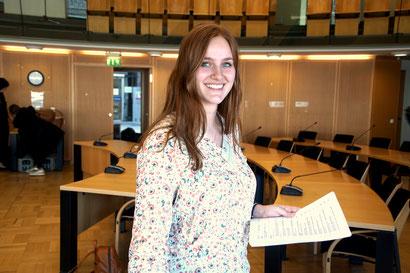 Politik zum Anfassen Josephine Donner Praktikum Bundesfreiwilligendienst / BFD / FÖJ / FSJ
