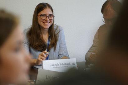 Politik zum Anfassen Hannah Schaback BFD Bundesfreiwilligendienst / BFD / FÖJ / FSJ