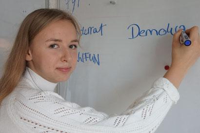 Politik zum Anfassen Lou-Iza Warner Schülerpraktikum Bundesfreiwilligendienst / BFD / FÖJ / FSJ
